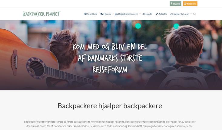 Backpacker Planet